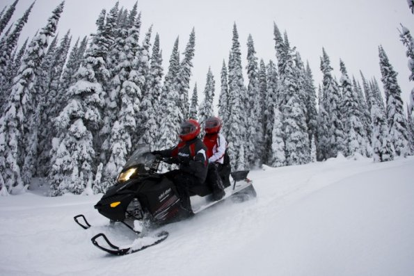 Lofty Peaks Park City Snowmobile Rentals