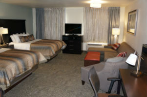 Staybridge Suites Midvale QQ Studio Bedroom